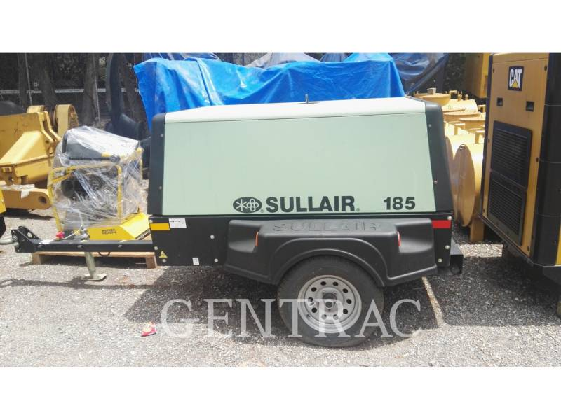 SULLAIR AIR COMPRESSOR (OBS) 185CA equipment  photo 1