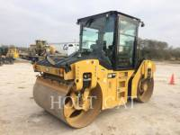 Equipment photo CATERPILLAR CB54B CAB VIBRATORY SINGLE DRUM ASPHALT 1