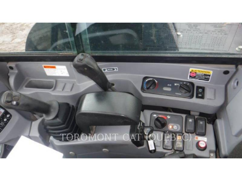 KUBOTA CORPORATION TRACK EXCAVATORS KX080-4 equipment  photo 8