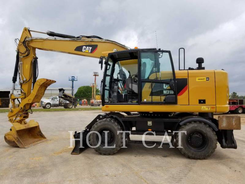 CATERPILLAR MOBILBAGGER M318F equipment  photo 1