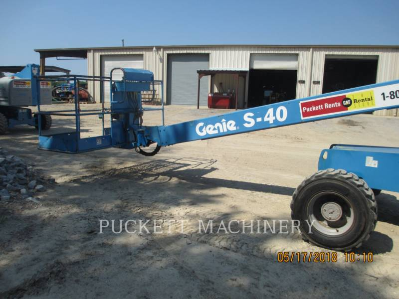 GENIE INDUSTRIES LIFT - BOOM S40 equipment  photo 4