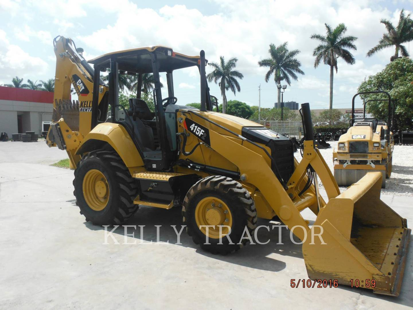Detail photo of 2015 Caterpillar 415F II from Construction Equipment Guide