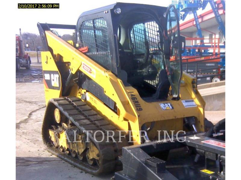 CATERPILLAR MINICARGADORAS 289D equipment  photo 1