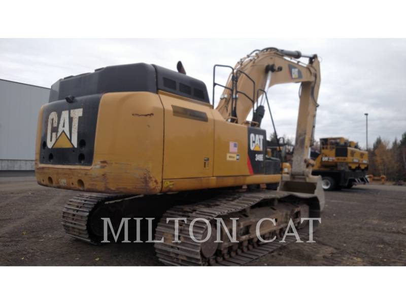 CATERPILLAR KETTEN-HYDRAULIKBAGGER 349E L equipment  photo 4
