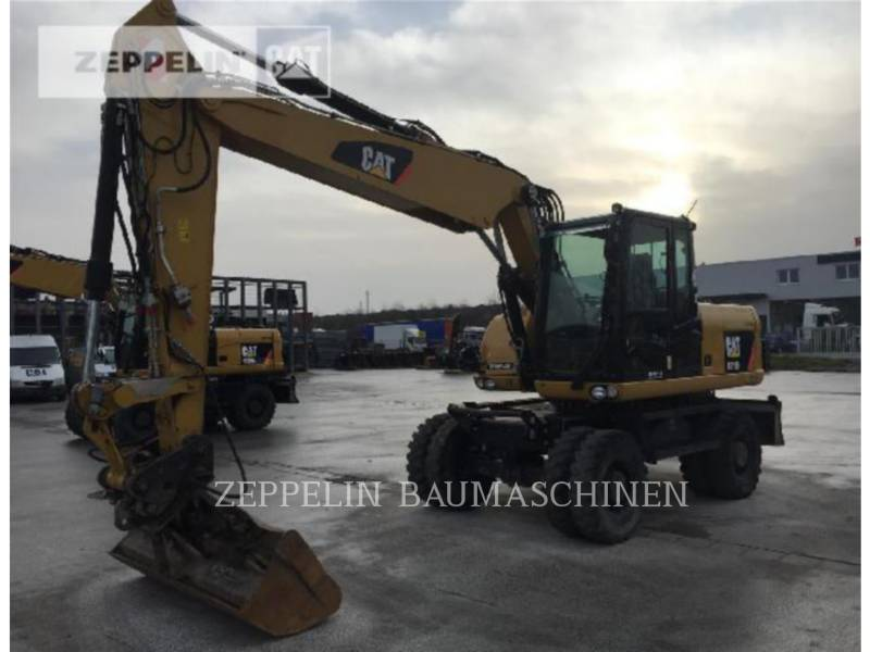 CATERPILLAR PELLES SUR PNEUS M316D equipment  photo 4