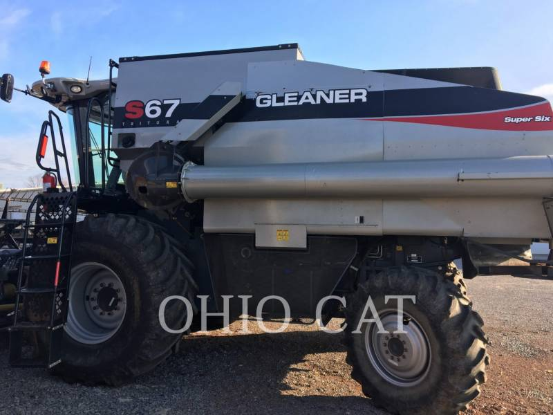 AGCO-GLEANER COMBINES S67 equipment  photo 1