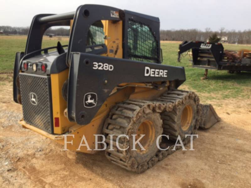 DEERE & CO. CHARGEURS COMPACTS RIGIDES 328D equipment  photo 2