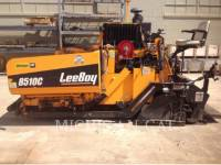 Equipment photo LEE-BOY 8510 ASPHALT PAVERS 1