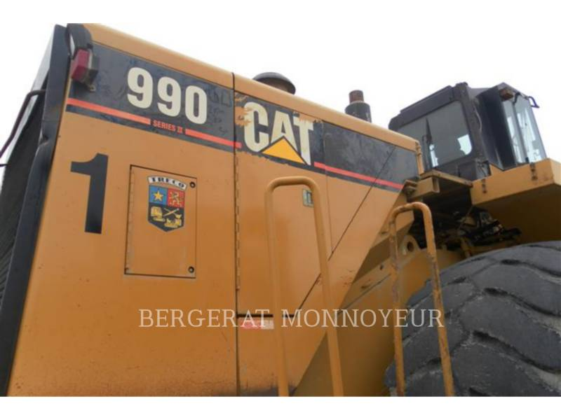 CATERPILLAR CARGADORES DE RUEDAS 990 equipment  photo 3