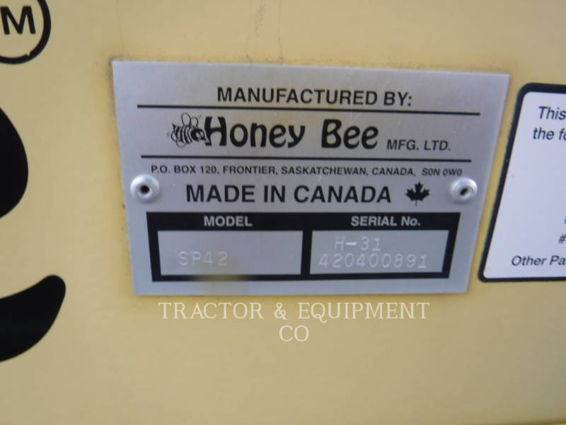 HONEY-BEE  COMBINE HEADER SP-42 equipment  photo 2