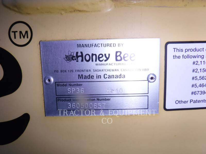 HONEY-BEE  COMBINE HEADER SP 36 A-10 equipment  photo 2