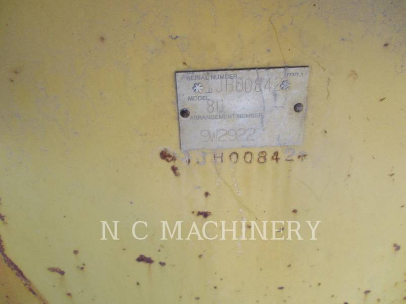 CATERPILLAR TRACTORES DE CADENAS D8N equipment  photo 8