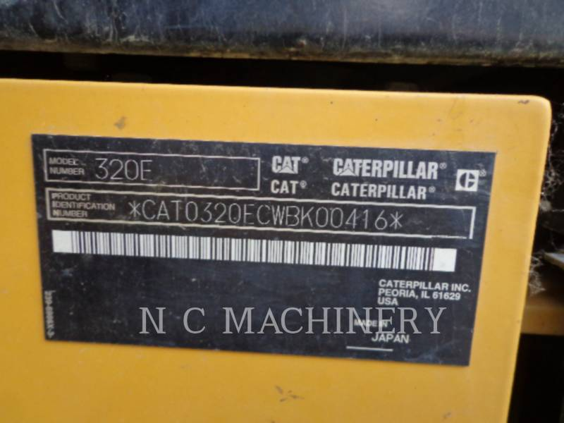 CATERPILLAR KOPARKI GĄSIENICOWE 320E L equipment  photo 7