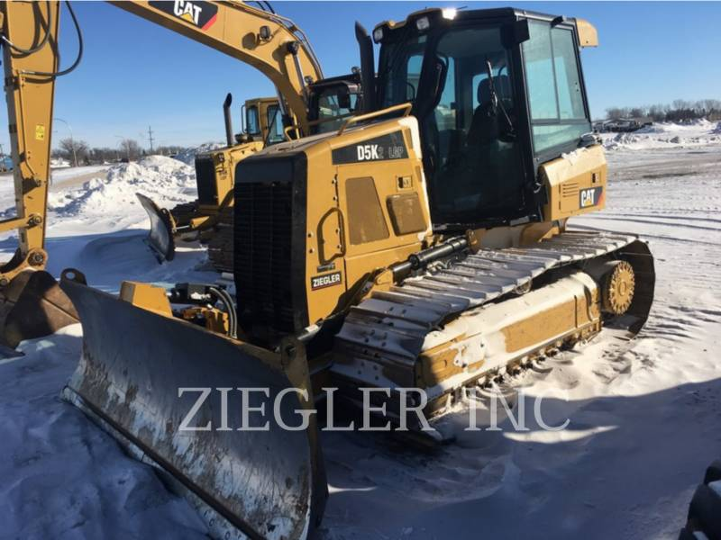 CATERPILLAR TRACTOREN OP RUPSBANDEN D5K2LGP equipment  photo 1