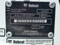 BOBCAT SKID STEER LOADERS S450 equipment  photo 10