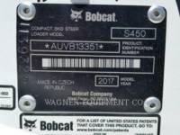 BOBCAT MINICARGADORAS S450 equipment  photo 10