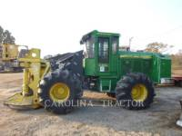 Equipment photo JOHN DEERE 643K FORESTRY - FELLER BUNCHERS - WHEEL 1