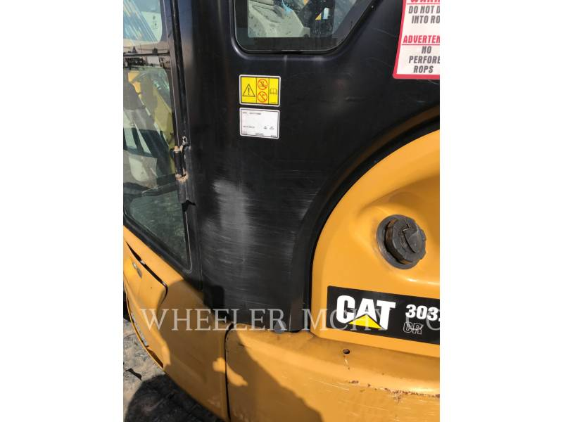 CATERPILLAR トラック油圧ショベル 303.5E2C3T equipment  photo 4