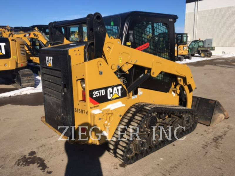 CATERPILLAR CHARGEURS TOUT TERRAIN 257DS equipment  photo 3