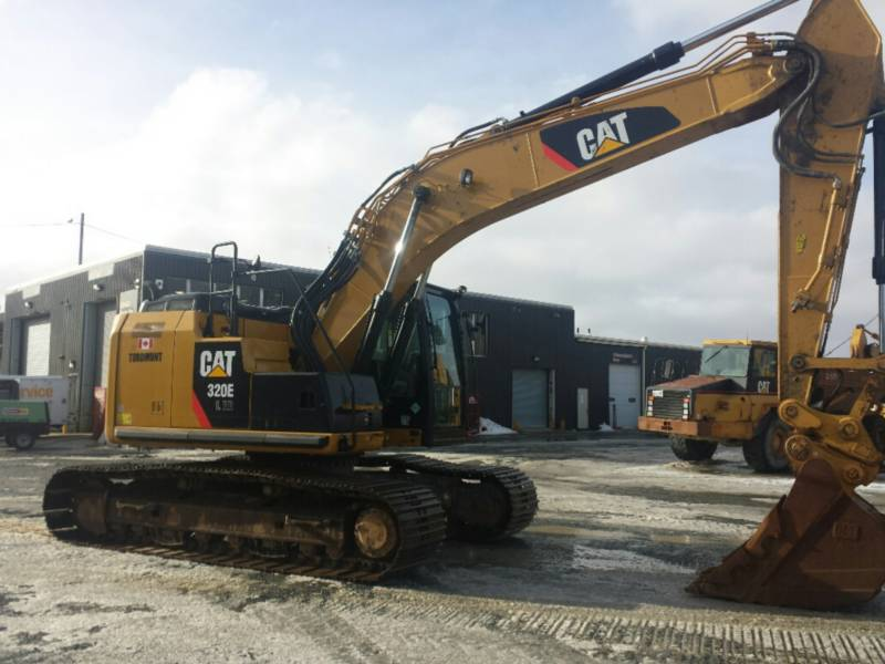 CATERPILLAR TRACK EXCAVATORS 320ELRR equipment  photo 6
