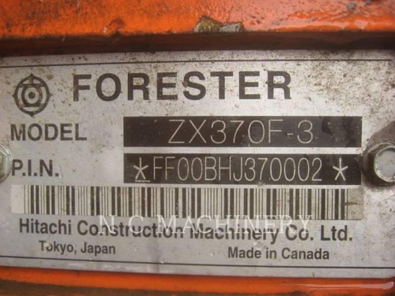 HITACHI FOREST MACHINE ZX370F-3 equipment  photo 5