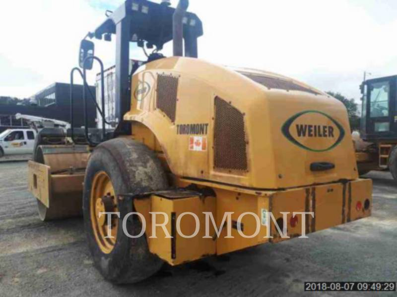 WEILER VIBRATORY SINGLE DRUM SMOOTH C110 equipment  photo 3