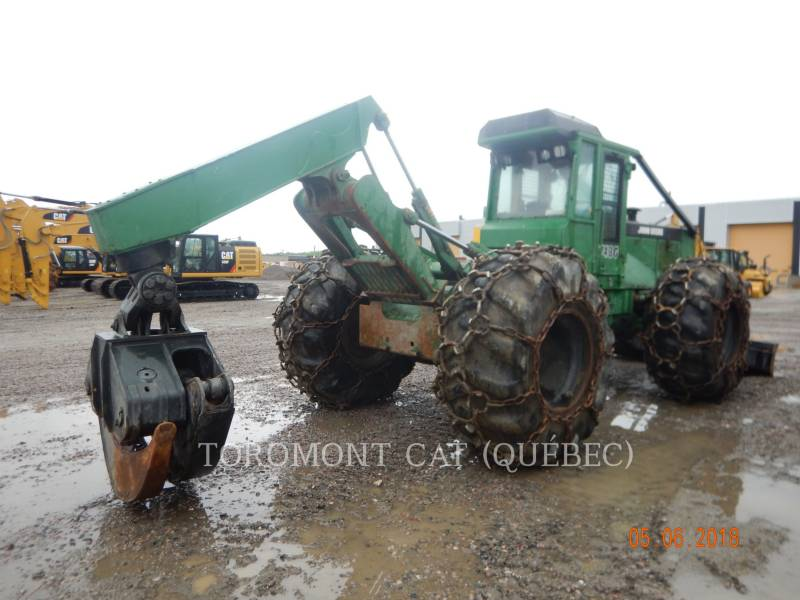 JOHN DEERE FORESTRY - SKIDDER 748G equipment  photo 1