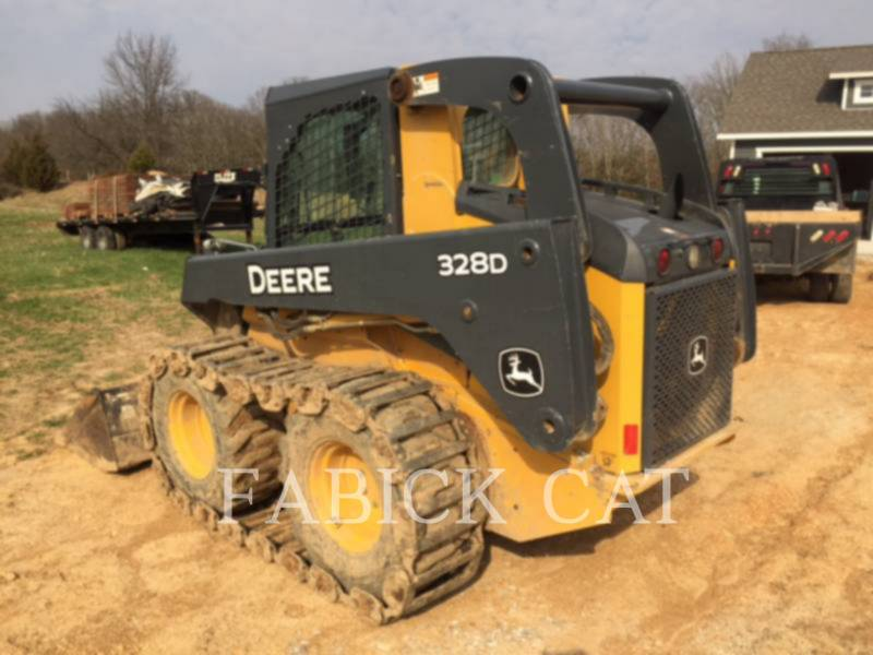 DEERE & CO. MINICARGADORAS 328D equipment  photo 4