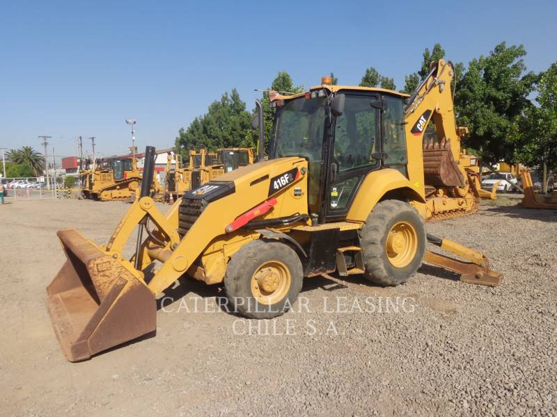 CATERPILLAR CHARGEUSES-PELLETEUSES 416 F 2 equipment  photo 2