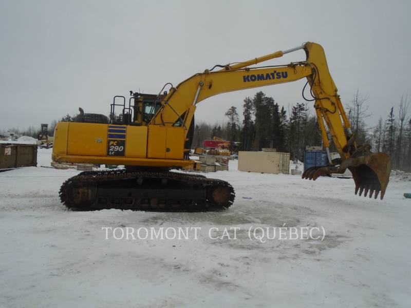 KOMATSU EXCAVADORAS DE CADENAS PC290LC equipment  photo 3