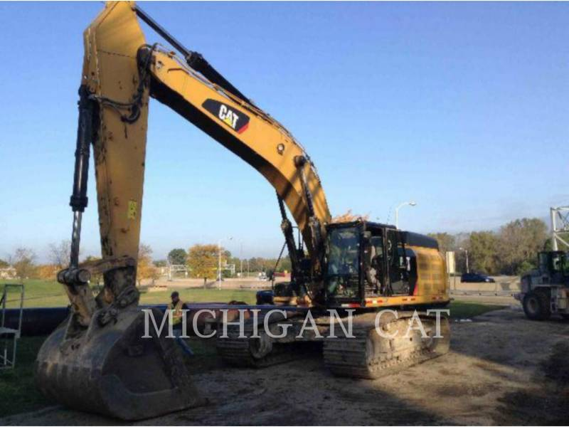 CATERPILLAR TRACK EXCAVATORS 349EL Q equipment  photo 1