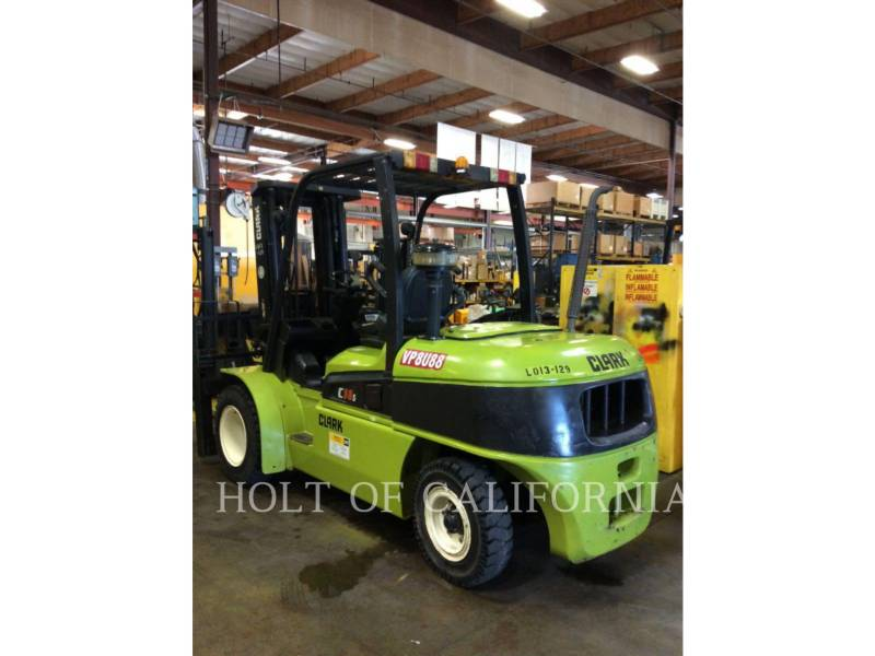 CLARK FORKLIFTS C55SD equipment  photo 4