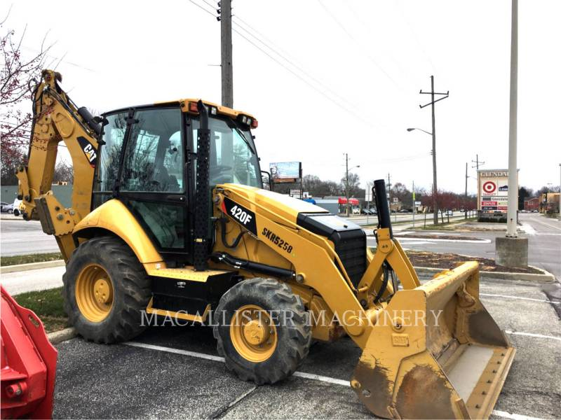 CATERPILLAR BACKHOE LOADERS 420 F equipment  photo 1