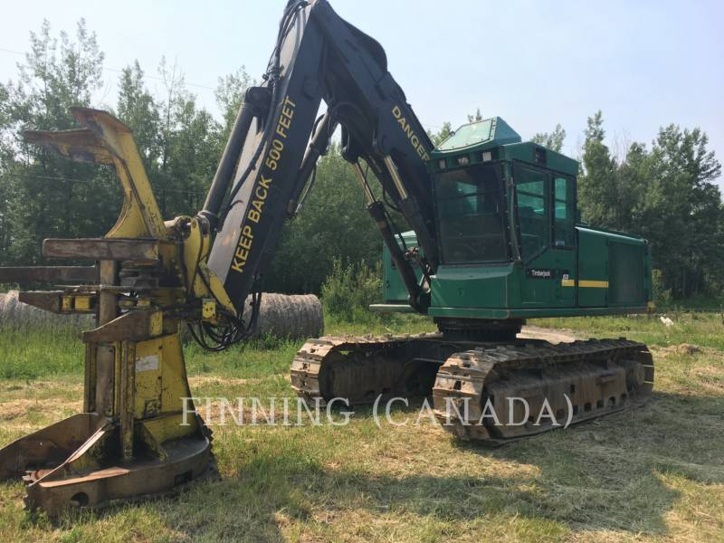 TIMBERJACK INC. FORESTRY - FELLER BUNCHERS - TRACK 850 equipment  photo 1