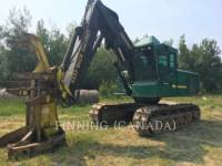 Equipment photo TIMBERJACK INC. 850 FORESTRY - FELLER BUNCHERS - TRACK 1