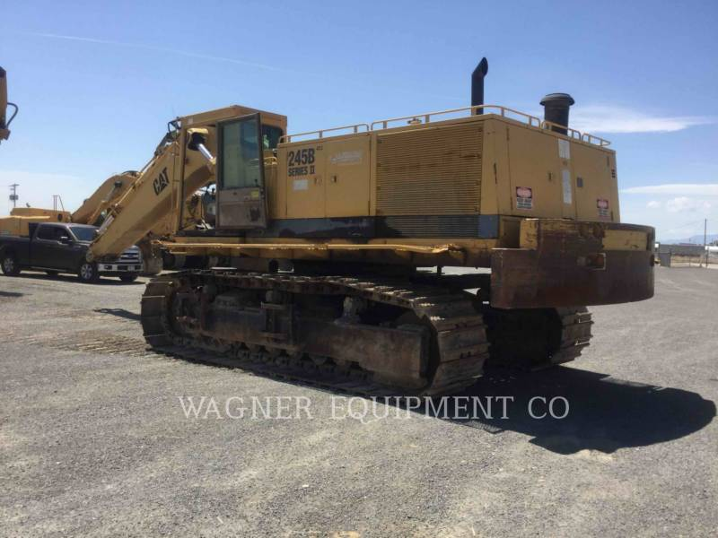 CATERPILLAR TRACK EXCAVATORS 245BII equipment  photo 4