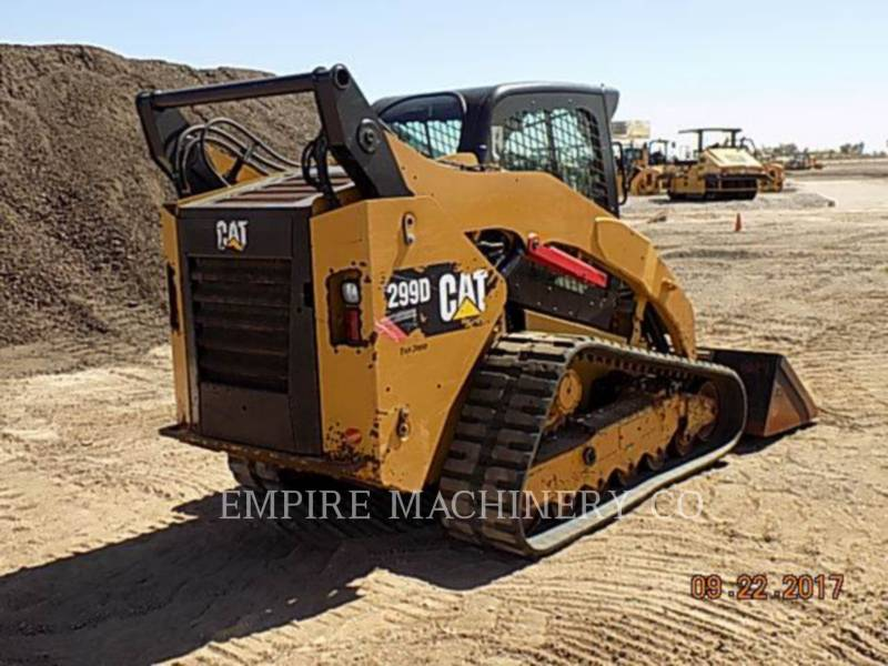 CATERPILLAR CHARGEURS COMPACTS RIGIDES 299D CA equipment  photo 5