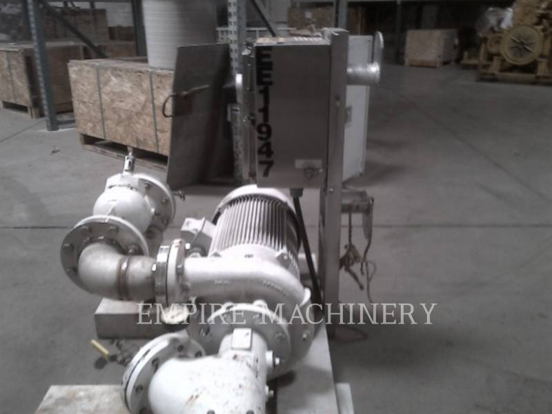 MISC - ENG DIVISION HVAC: ヒータ、換気、およびエアコン (OBS) PUMP 25HP equipment  photo 2