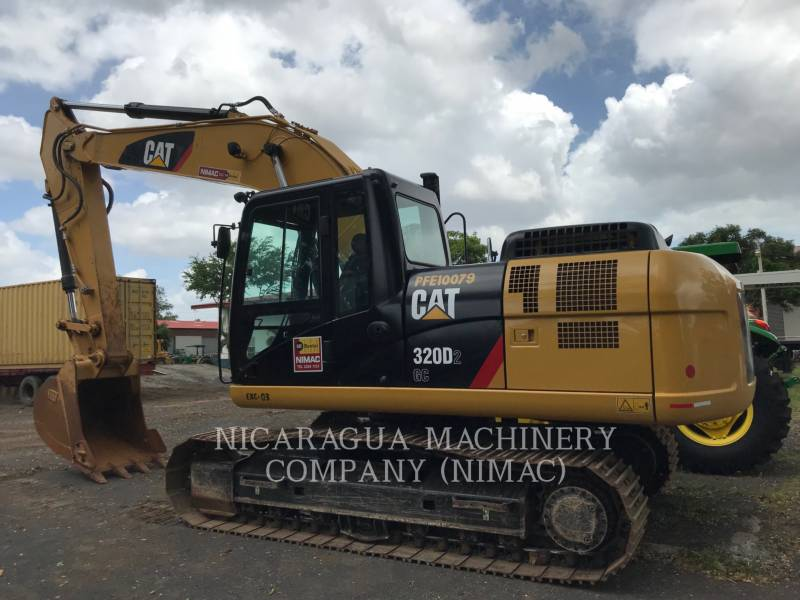 CATERPILLAR KETTEN-HYDRAULIKBAGGER 320D2GC equipment  photo 4