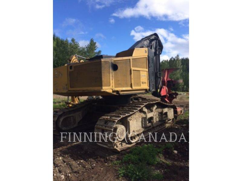 CATERPILLAR FORESTRY - FELLER BUNCHERS - TRACK TK741 equipment  photo 2