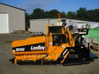 Equipment photo LEE-BOY 8515C ASPHALT PAVERS 1