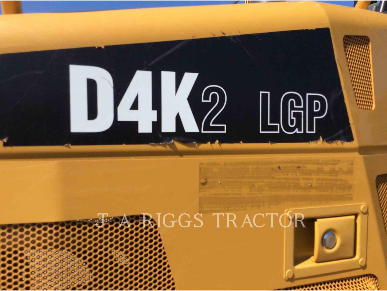 Detail photo of 2015 Caterpillar D4K LGP from Construction Equipment Guide