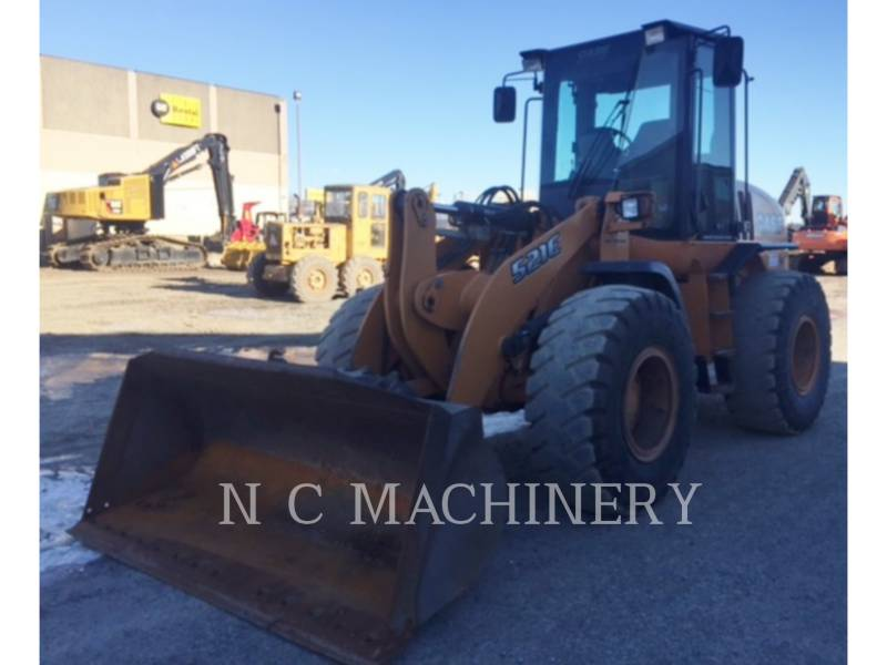 CASE WHEEL LOADERS/INTEGRATED TOOLCARRIERS 521E equipment  photo 1