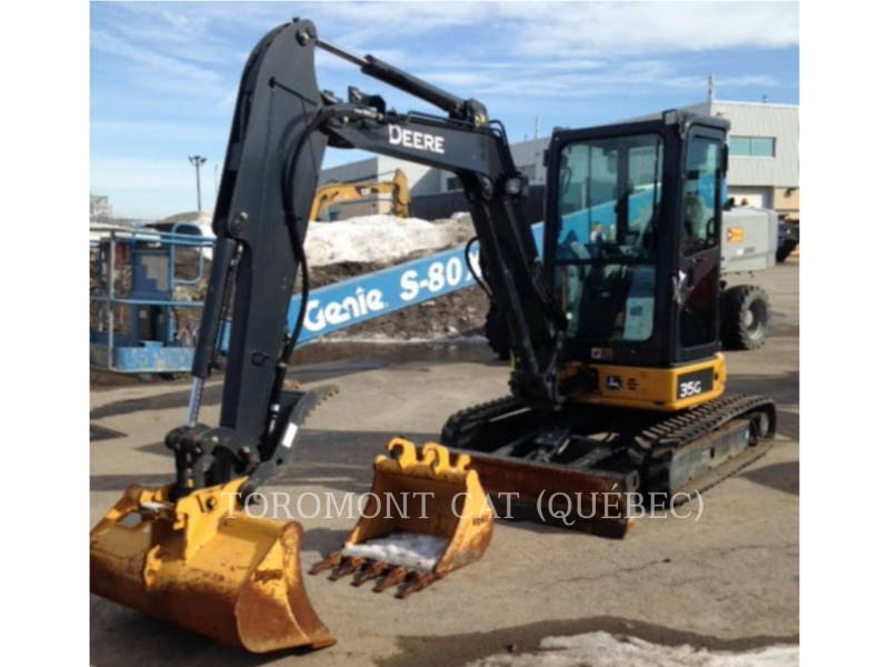 JOHN DEERE EXCAVADORAS DE CADENAS 35G equipment  photo 12
