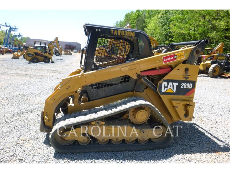 CATERPILLAR CARGADORES DE CADENAS 289D equipment  photo 2