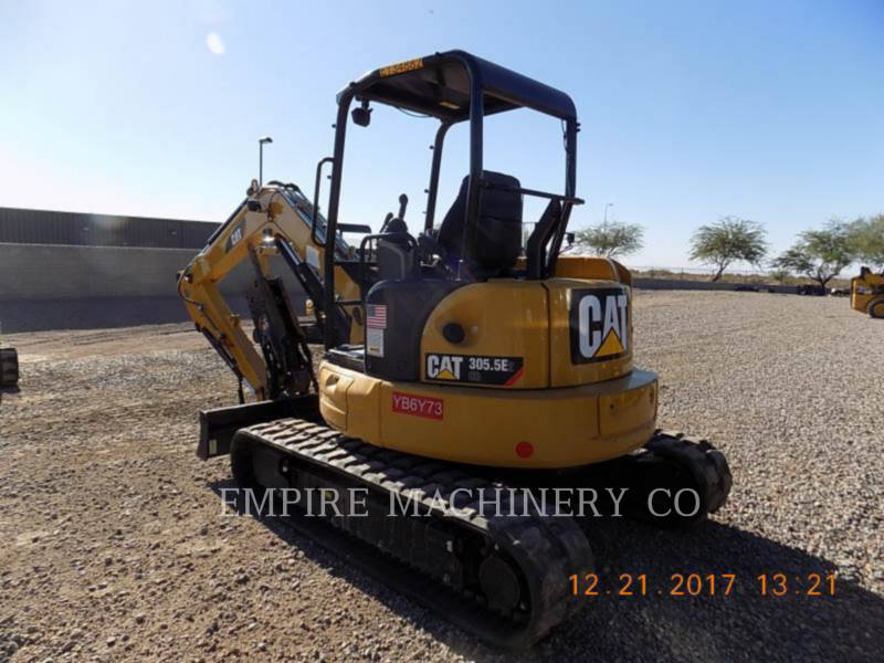 CATERPILLAR PELLES SUR CHAINES 305.5E2 OR equipment  photo 3