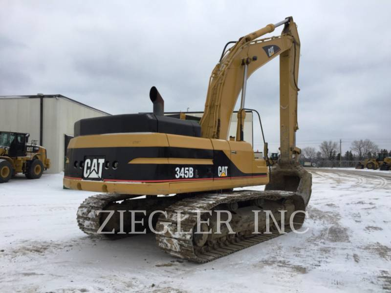 CATERPILLAR TRACK EXCAVATORS 345BIIL equipment  photo 2