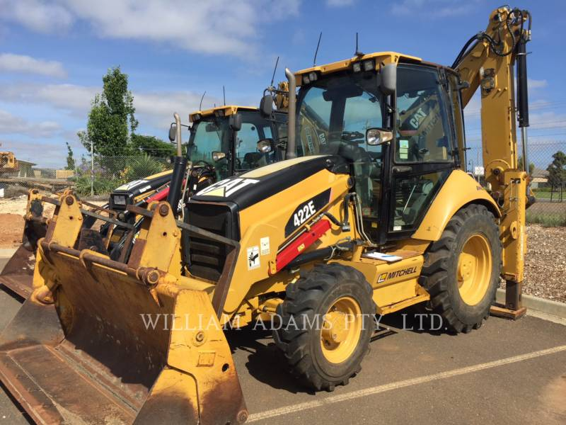 CATERPILLAR BACKHOE LOADERS 422E equipment  photo 1