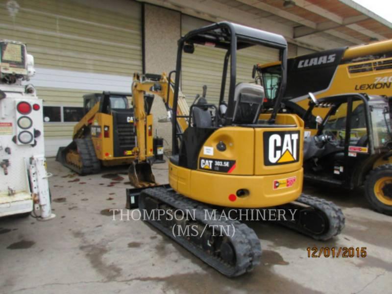 CATERPILLAR TRACK EXCAVATORS 303.5E equipment  photo 2