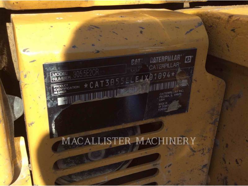 CATERPILLAR KOPARKI GĄSIENICOWE 305.5E2CR equipment  photo 5